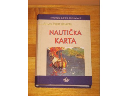 Nauticka karta - Arturo Peres Reverte (NOVA)
