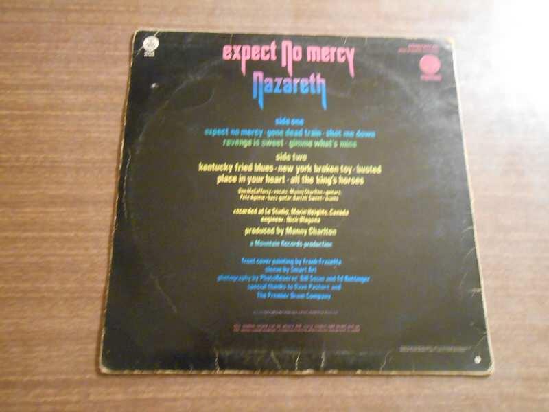 Nazareth (2) - Expect No Mercy