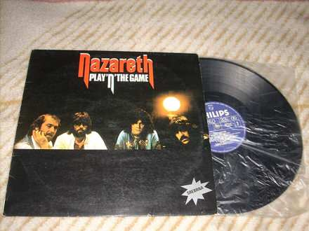 Nazareth - Play`n` The Game LP