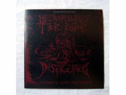 Necrophiliacs Terror/Disfigured - Legions of Gore and Death