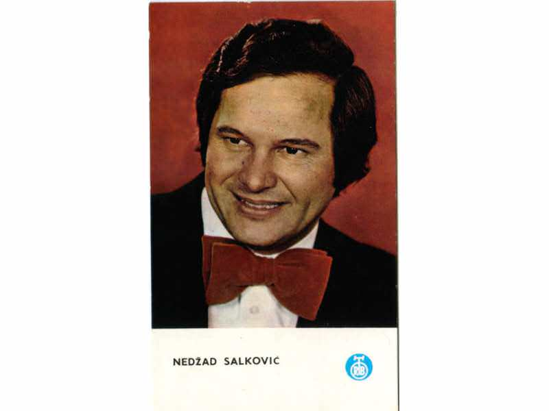 Nedžad Salković - autogram karta (RTB)