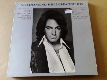 Neil Diamond - His 12 Greatest Hits, original, mint