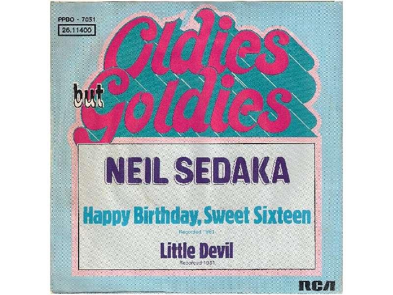 Neil Sedaka - Happy Birthday, Sweet Sixteen / Little Devil