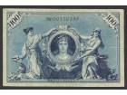 Nemacka 100 mark 1908 zelen serijski broj