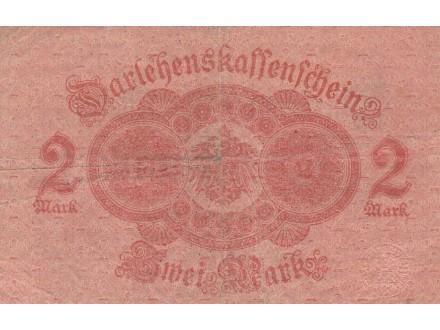 Nemacka 2 marke 1914