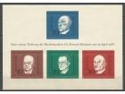 Nemačka,Povodom smrti-Dr.K.Adenauer 1968.,blok,čisto