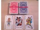 Nemačke Karte za bridž,poker,tablić - poluplastične