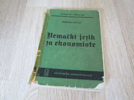 Nemacki jezik za ekonomiste Zdenka Krstic