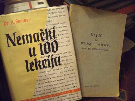 Nemački u 100 sto lekcija sa ključem , Šmaus