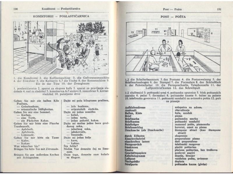 Nemačko-srpskohrvatski (i obratno) rečnik za turiste