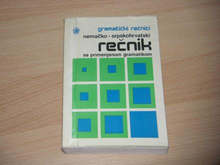 Nemačko-srpskohrvatski rečnik sa primenjenom gramatikom