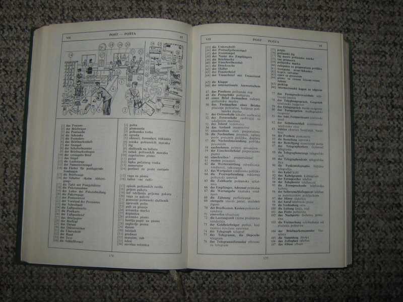 Nemačko srpskohrvatski rječnik u slikama