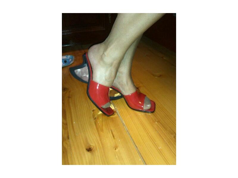 Neri papuce 37