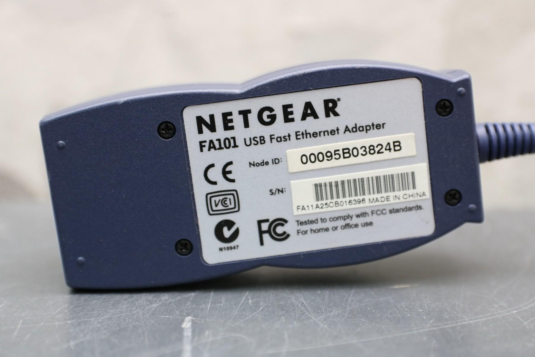 Netgear FA101 Driver UPDATE