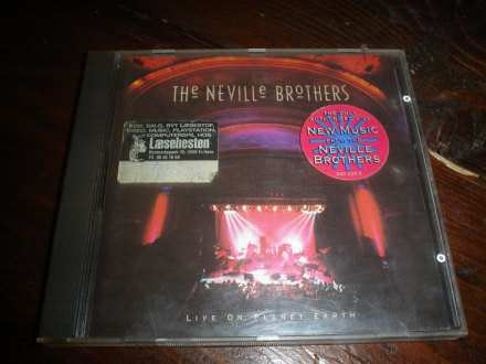 Neville Brothers, The - Live On Planet Earth