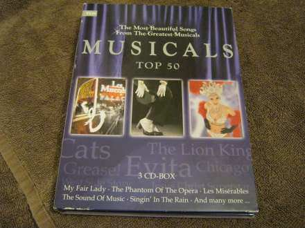 New Jork Theatre Orchestra - Musicals top 50