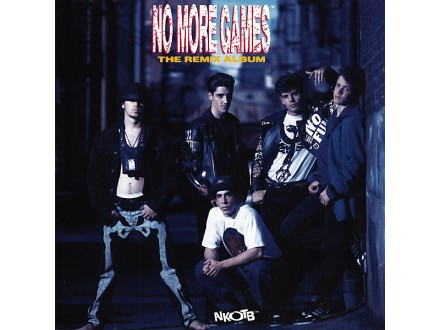 New Kid On The Block - No More Games / The Remix Album