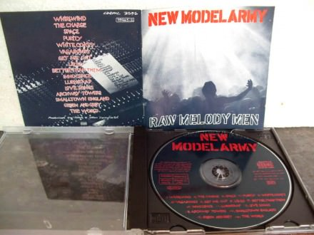 New Model Army - Raw Melody Men