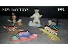 New-Ray Toys - životinje sa postoljem 1992.