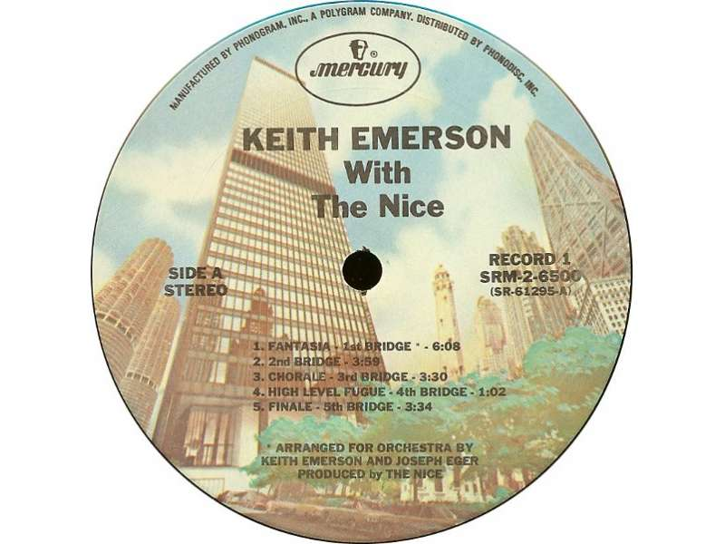 Nice, The - Keith Emerson With The Nice