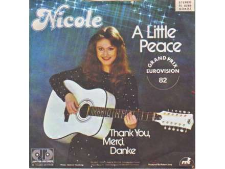 Nicole (2) - A Little Peace / Thank You, Merci, Danke