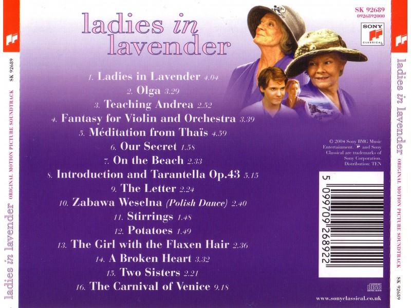 Nigel Hess - Ladies in Lavender