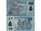 Nigeria 50 Naira 2011. UNC Polymer.