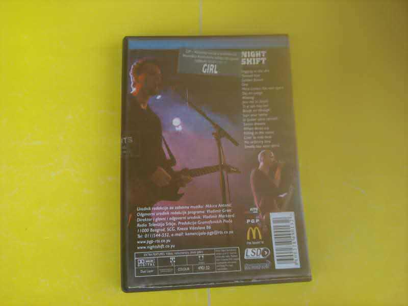 Night Shift (4) - No Ordinary DVD