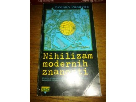 Nihilizam modernih znanosti- Zvonko Posavec