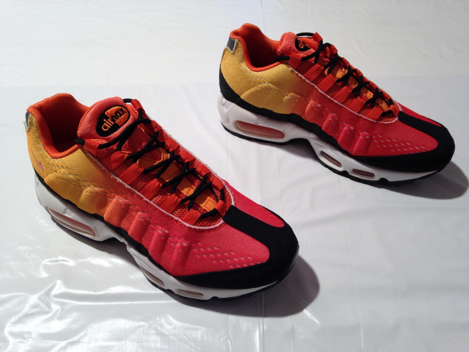 los angeles c1a16 2a1ef Nike Air Max 95 Sunset Original Novo