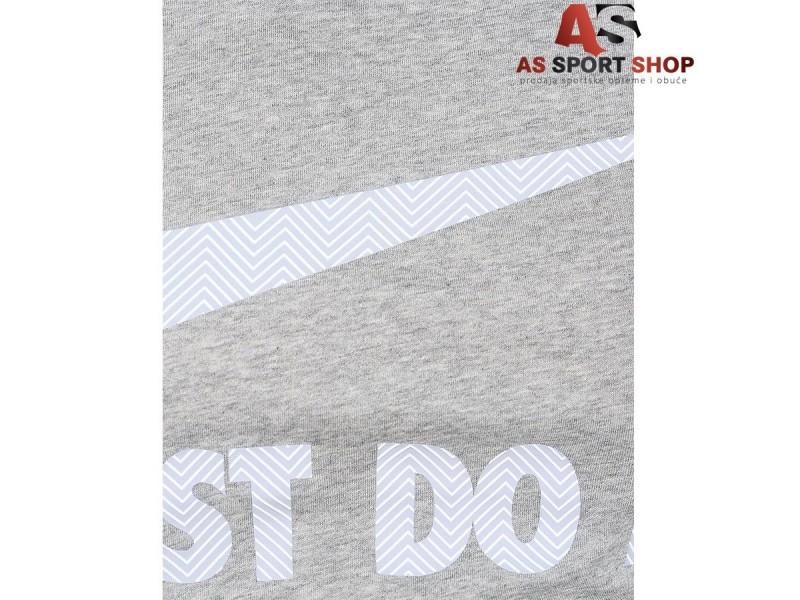 Nike Tee Swoosh muška siva majica - As Sport
