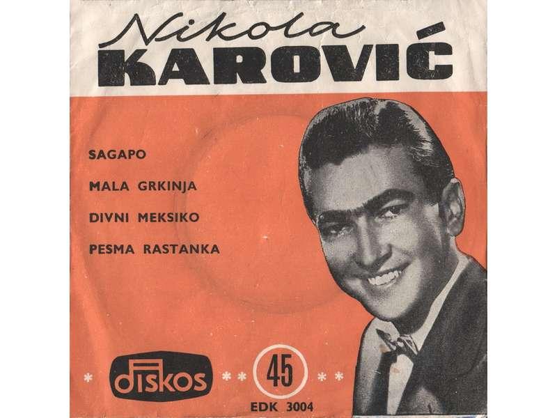 Nikola Karović - Sagapo
