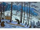 Nikolaj Rerih - Monah u planini