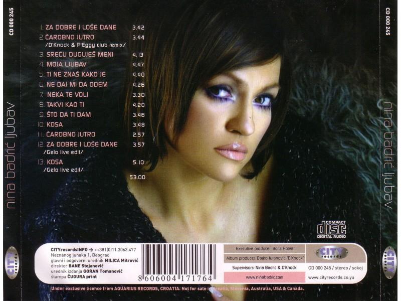Nina Badrić - Ljubav