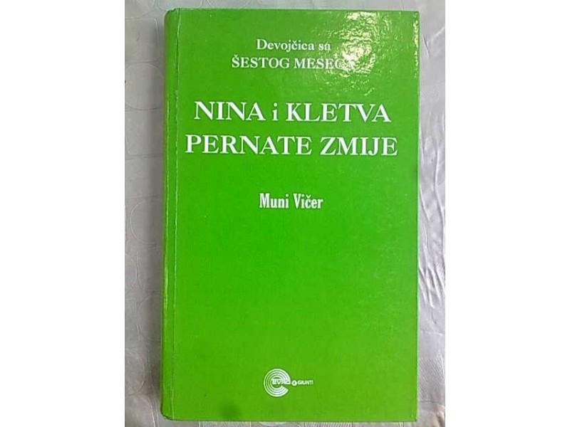 Nina i kletva pernate zmije-Muni Vicer