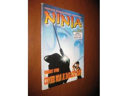 Ninja br.74 - Čovjek koji je zaslužio smrt (Strip Agen