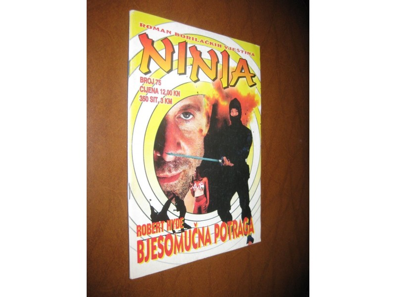 Ninja br.75 - Bjesomučna potraga (Strip Agent)