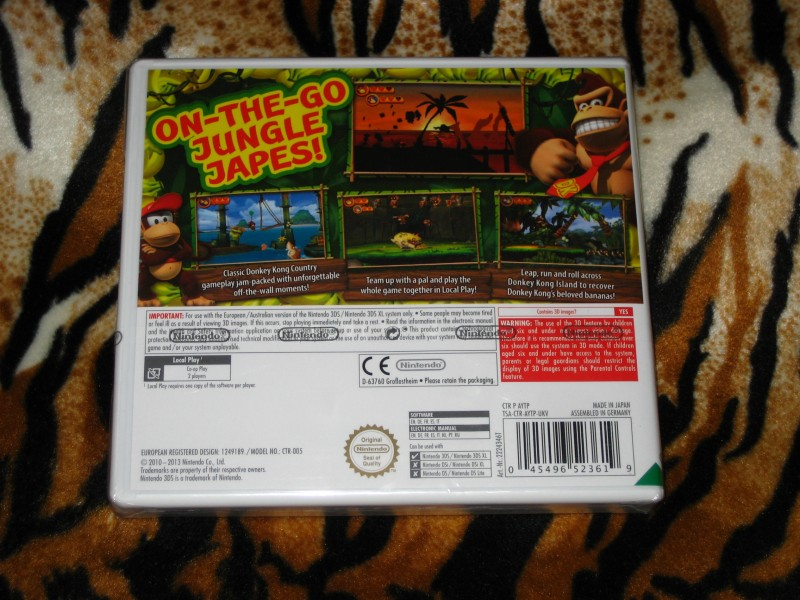 Nintendo 3DS Igra Donkey Kong Country Returns