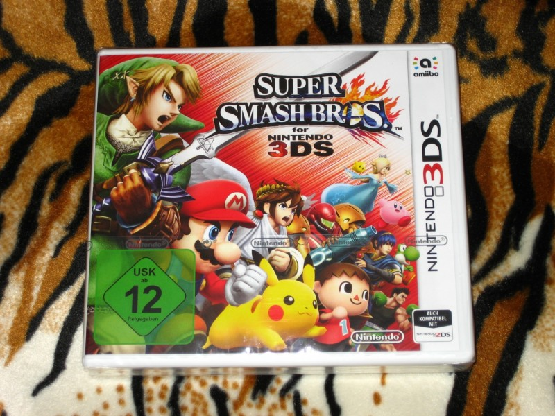 Nintendo 3DS Igra Super Smash Bros