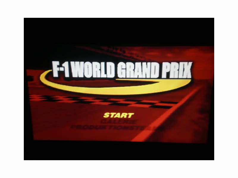 Nintendo 64 igrica - F1 World Grand Prix
