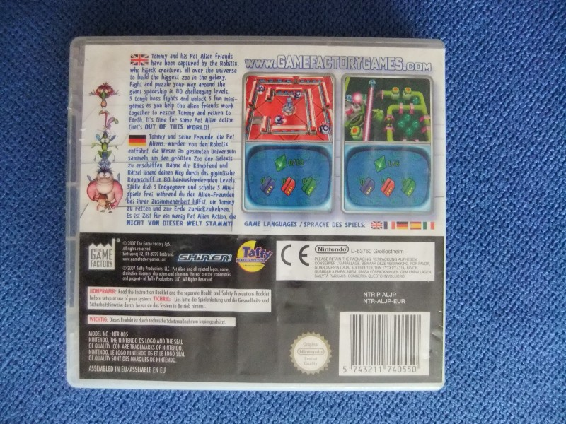 Nintendo DS igra Pet Alien FULL + GARANCIJA!