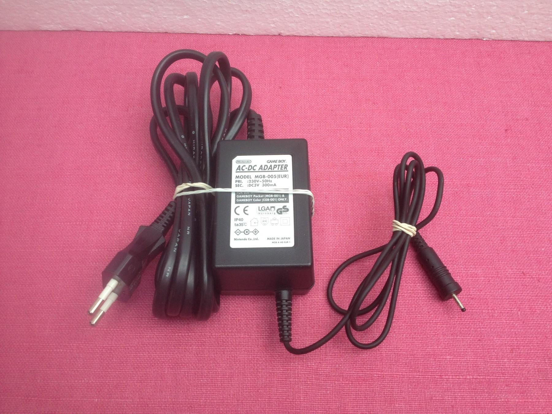 Nintendo GameBoy Color i GameBoy Pocket adapter+GARANCI