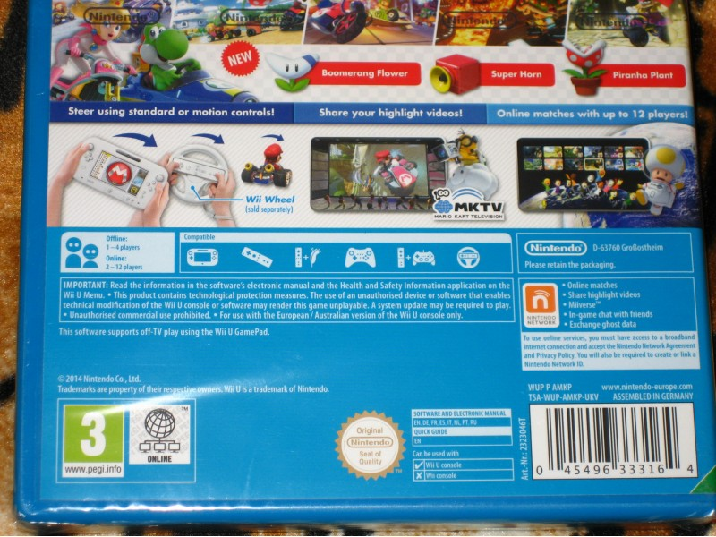 Nintendo Wii U Igra Mario Kart 8