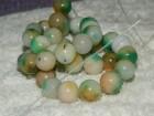 Niza -zeleni ahat  Dimenzija perle 10 mm