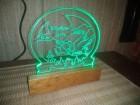Nocna lampa, 3D lampa