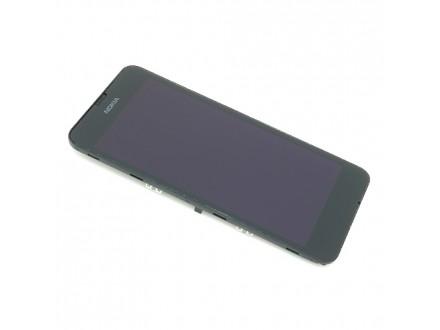 Nokia Lumia 630 - LCD EKRAN + Touch screen + okvir crni ORG ®
