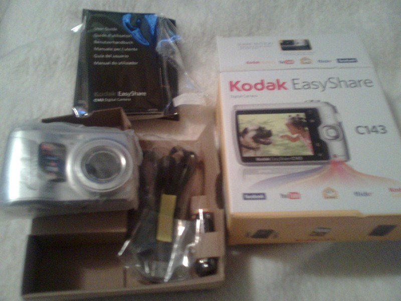 Nov dig. fotoap. Kodak Easyshare C143 sa garancijom