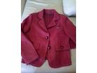 Nov italijanski crveni vuneni sako