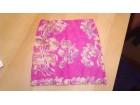 Nova suknja ciklama boje sa kom.braon nijansi