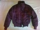 Nova tamno ljubicasta zimska jakna